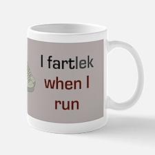 I FARTlek When I Run Mug