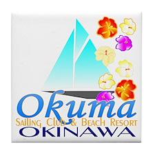 Okuma Sailing Club & Resort Tile Coaster