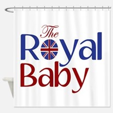 The Royal Baby Shower Curtain