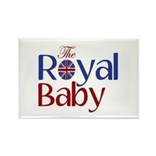 The Royal Baby Rectangle Magnet