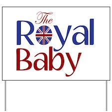 The Royal Baby Yard Sign