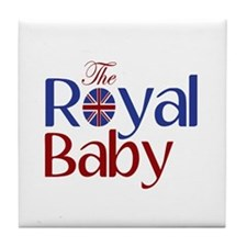 The Royal Baby Tile Coaster