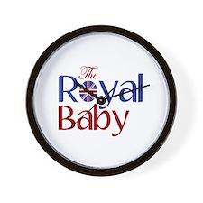 The Royal Baby Wall Clock
