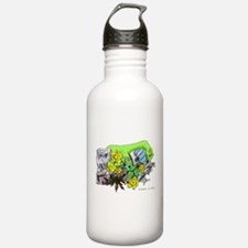 Dragons Crystal Garden Water Bottle