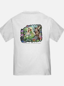 Dragons Crystal Garden Fantasy Art T