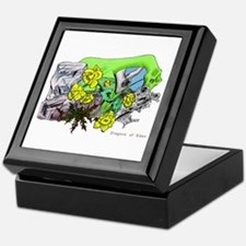 Dragons Crystal Garden Fantasy Art Keepsake Box