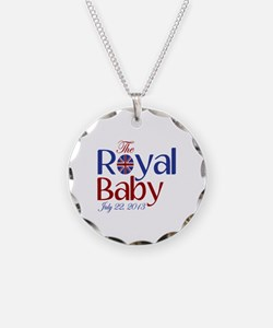 The Royal Baby Birthdate Souvenir Necklace