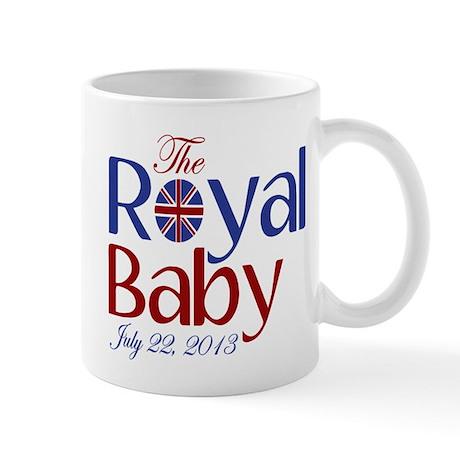 The Royal Baby Birthdate Souvenir Mug