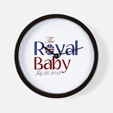 The Royal Baby Birthdate Souvenir Wall Clock