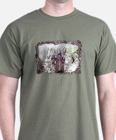 Forest Druids Celtic Fantasy Art T-Shirt