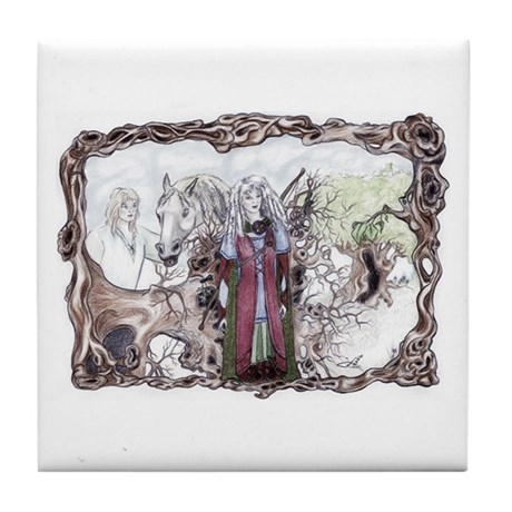 Uprooted Forest Druids, Celtic Fantasy Art Prints original Celtic fantasy art by Janice Moore
