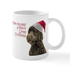 Santa Labradoodle Mug