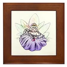 Fair Fairy Princess Framed Tile