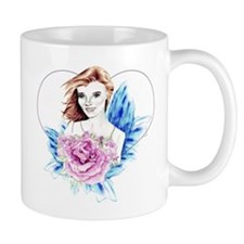 Rose Fairy Wedding Valentine Mug