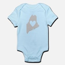 Heart Maine Infant Bodysuit