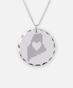 Heart Maine Necklace