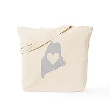 Heart Maine Tote Bag