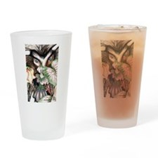 Nephilim Dragon Fantasy Art Drinking Glass