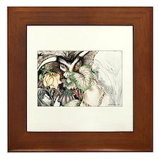 Dragon vs Fairy Eve Framed Tile