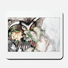 Nephilim Dragon Fantasy Art Mousepad