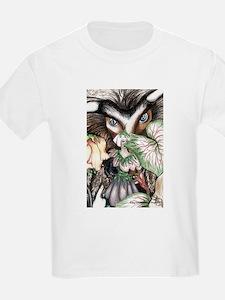 Nephilim Dragon Fantasy Art T-Shirt