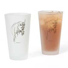 Unicorn Mischief Drinking Glass