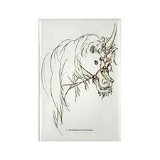 Unicorn Mischief Rectangle Magnet