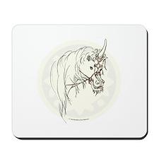 Unicorn Mischief Mousepad