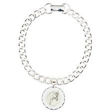 UNICORN LEGEND Fantasy art Charm Bracelet, One Cha
