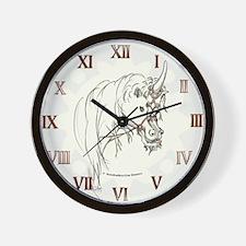 Unicorn Mischief Wall Clock