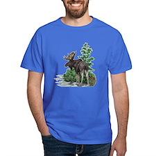 Bull moose art T-Shirt