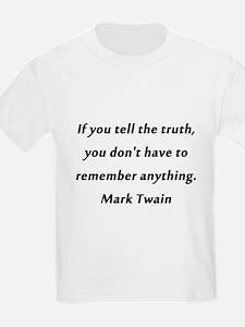 Twain On Truth T-Shirt