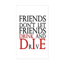 Friends Rectangle Decal