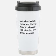 Caffeine Chemical Name Travel Mug