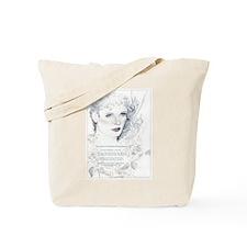 Lady Rose Tote Bag