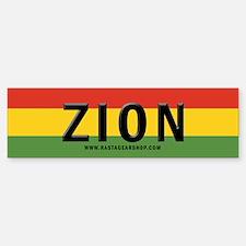Rasta Gear Shop Zion Bumper Bumper Bumper Sticker