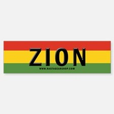 Rasta Gear Shop Zion Bumper Car Car Sticker