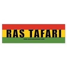 Rasta Gear Shop Ras Tafari Bumper Car Sticker