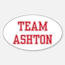 TEAM ASHTON Oval Decal