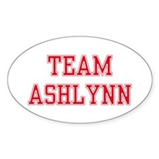 TEAM ASHLYNN Oval Decal