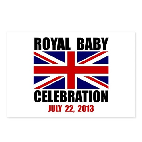 Royal Baby Celebration Postcards (Package of 8)