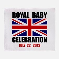 Royal Baby Celebration Throw Blanket