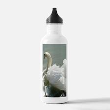 Beautiful white swan Water Bottle