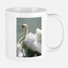 Beautiful white swan Mug