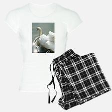 Beautiful white swan Pajamas