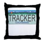 Colorado Tracker Plate Throw Pillow