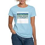 Colorado Tracker Plate Women's Pink T-Shirt