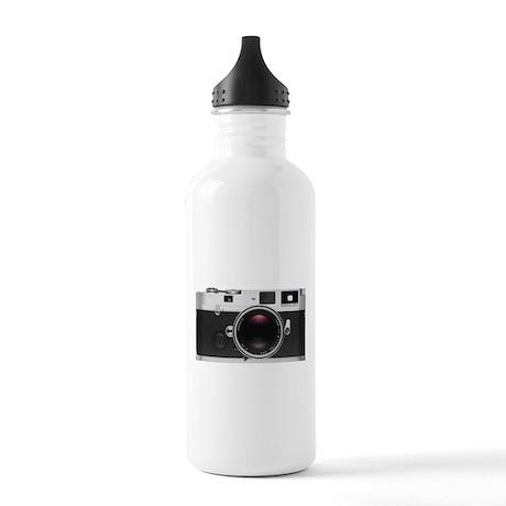 Retro Style Camera Water Bottle