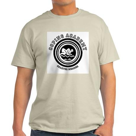 Coping Academy Ash Grey T-Shirt