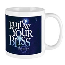 Follow Your Bliss Starry Ceremic Mug